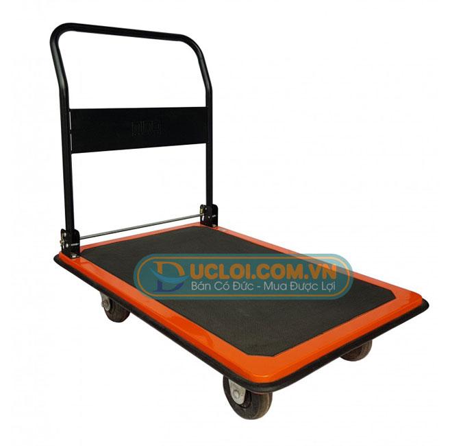 xe day hang banh cao su 4 banh 300kg