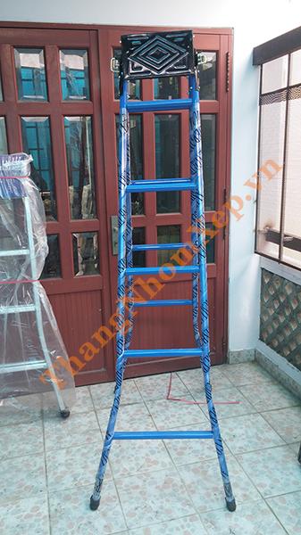 Thang sắt chữ A giá rẻ TS25 cao 2m5